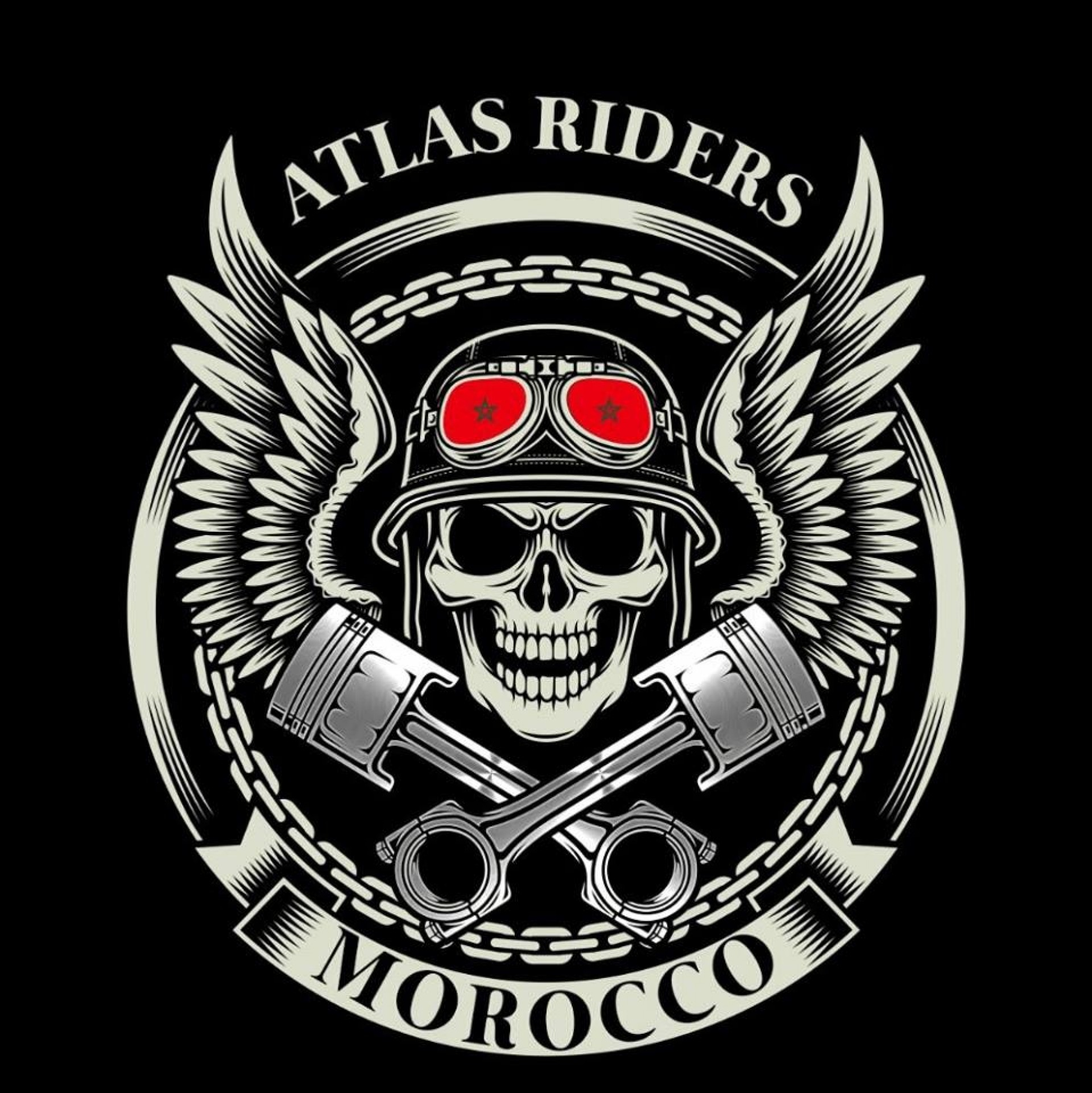 Atlas Riders Brotherhood  logo