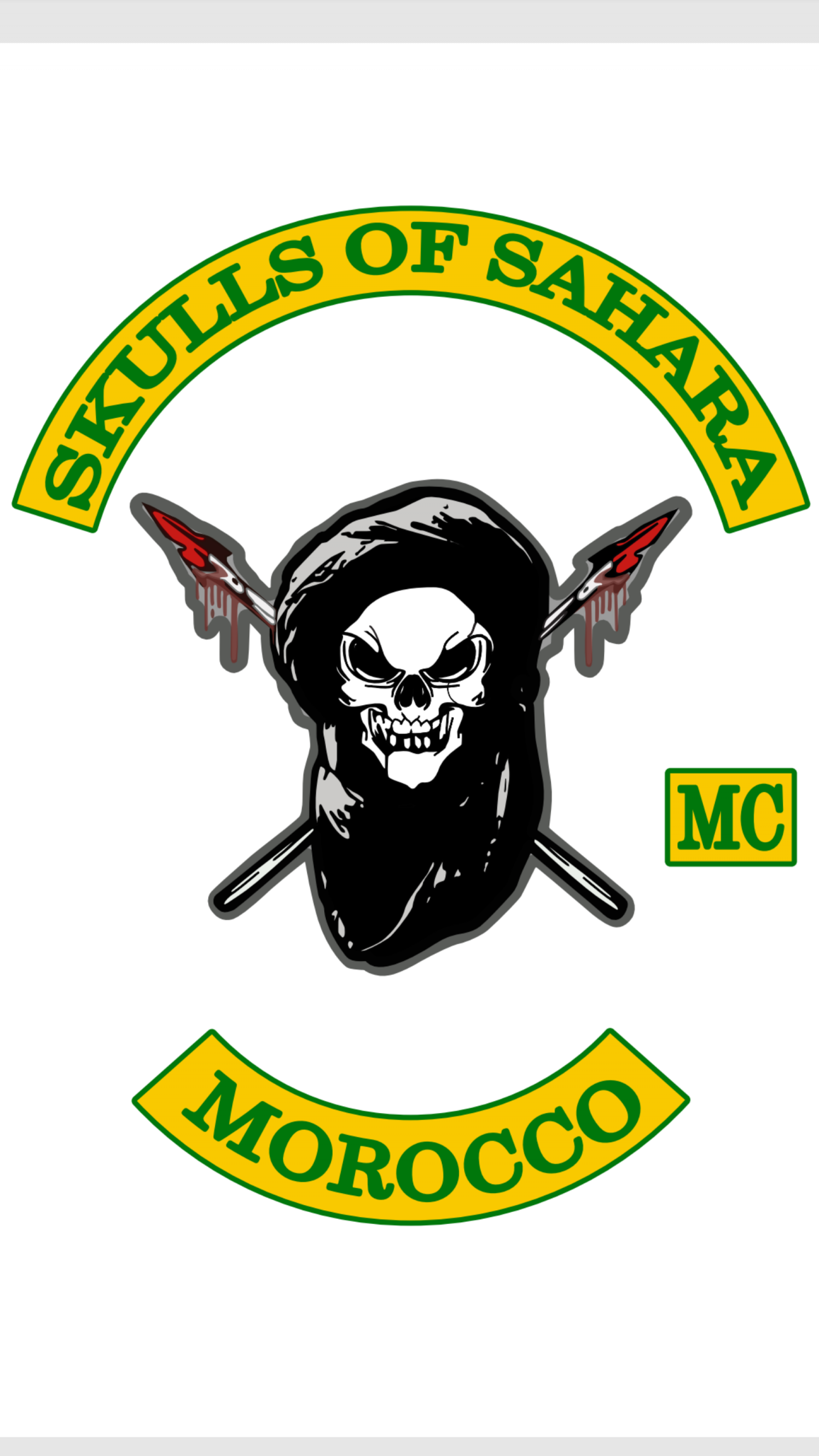SKULLS OF SAHARA MC  logo