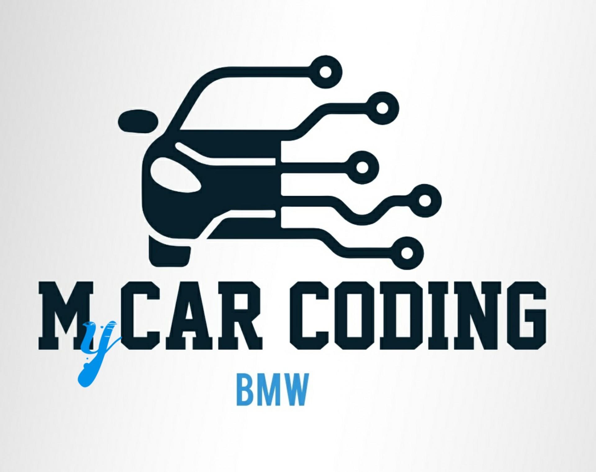 My car coding  logo