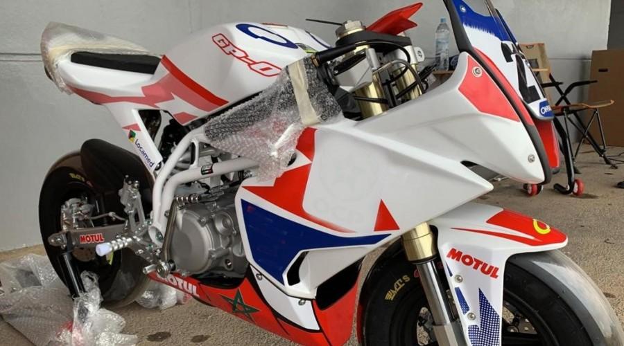 Moto de compétition Ohvale  Photo N°1